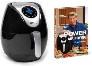 Power Air Fryer XL 3.4 Quart Deluxe