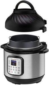 Instant Pot Duo Crisp Pressure Cooker 11 in 1, 8 Qt with Air Fryer
