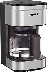 KRUPS KM202850 Simply Brew Compact Filter Drip Coffee Maker