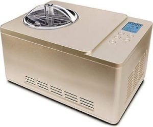 Whynter ICM-220CGY Automatic Ice Cream and Yogurt Maker