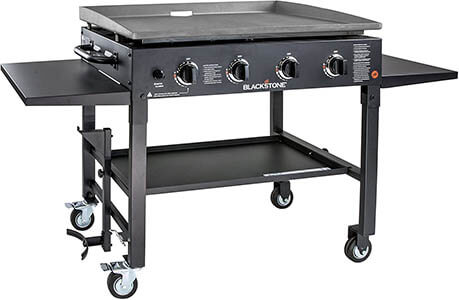 Blackstone 36 Inch Cooking 4 Burner Flat Top Gas Grill