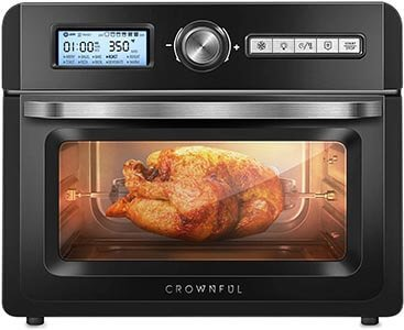 CROWNFUL 19 Quart18L Air Fryer Toaster Oven