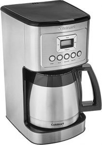 Cuisinart Stainless Steel Thermal Coffeemaker, 12 Cup Carafe