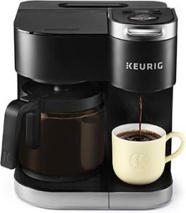 Keurig K-Duo Coffee Maker, Single Serve and 12-Cup Carafe Drip Coffee Brewer