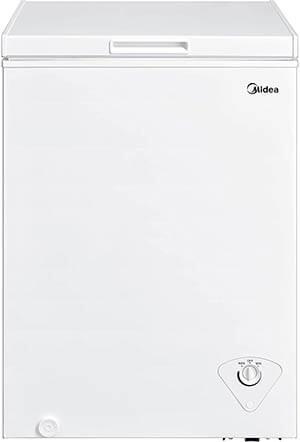 Midea MRC04M3AWW Single Door Chest Freezer