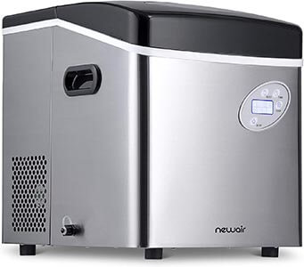 New Air Portable Ice Maker 50 pounds Nugget Maker