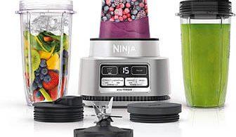 How to use Ninja blender as food processor?