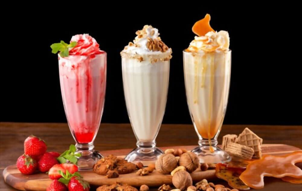 How to make a milkshake without ice cream and a blender guide line