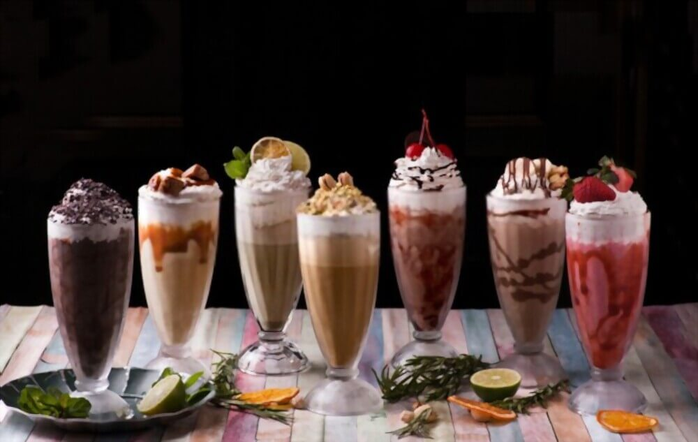How to make a milkshake without ice cream and a blender